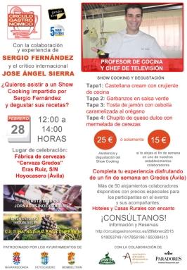 Gredos Eventos curso cocina Sergio Fernandez TVE1 02